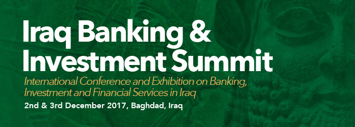 The Central Bank of Iraq announces the success of its efforts to reform the economic environment and achieve stability in prices Iraq-banking-investment-summit-banner